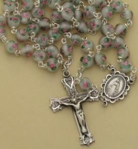 China glass beads religious rosary on sale
