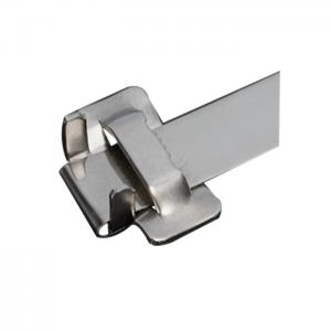 China 201 304 316 Stainless Steel Screw Buckles , OEM Ss Banding Strap Clips on sale