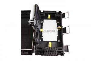 China 8 Core Fiber Optic Splice Closure With Modified Polymer Plastic , Optical Fiber Closure on sale