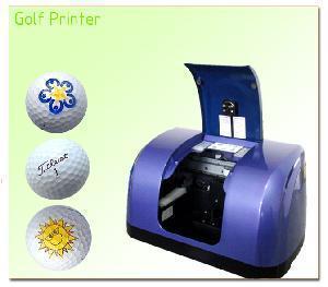China Art Golf Ball Printing Machine on sale