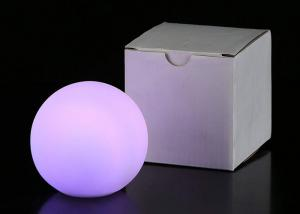 China Small Red Color LED Ball Lights With Customized Logo For Gift Promotion on sale