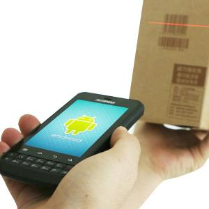 China Android OS UHF RFID reader with camera can scan 1D 2D barcodes on sale