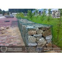 China Green Color PVC coated Doulbe Twist Mesh Gabion Basket with lid, 1.5X1X1m on sale