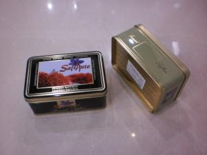 China Tin box for biscuit on sale
