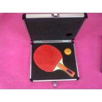 Ping - Pong Racket Aluminium Storage Case with Logo Printing Customized