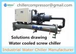 Anodizing and Plating Chiller Water Cooled Industrial Chiller
