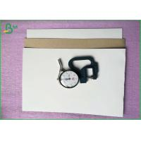 Recyclable Duplex Board With Grey Back , Coated Paper Board 70x100cm Sheet Packing