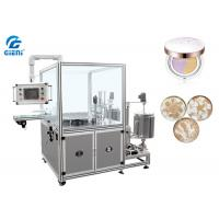 High Speed Cosmetic Filling Machine , Patterned Foundation Paste Filling Machine