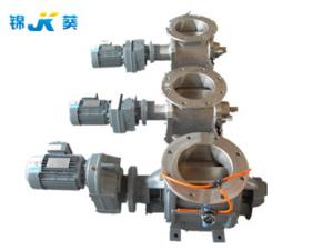 China Food Industry Pneumatic Rotary Valve Potato Powder Handling Valves on sale