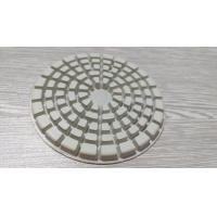 "4 "" Dry Diamond Polishing Pads For Marble / Concrete / Granite / Stone"
