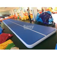 Customs Size Inflatable Air Track Gymnastics Mat For Tumbling Durable
