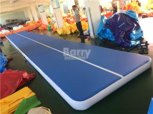 China Customs Size Inflatable Air Track Gymnastics Mat For Tumbling Durable on sale