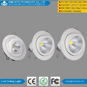 China China dimmable cob led gimbal downlight 15w 20w 25w 30w led recessed down light on sale