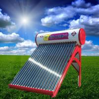 Colored Steel Integrated Non-pressurized Solar Water Heater With 20 Tubes
