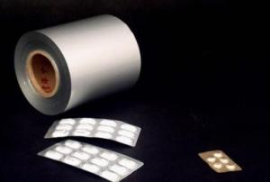 China Flexible Printed Pharmaceutical Flexible Packaging Aluminium Foil For Capsule on sale