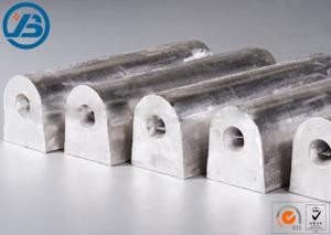 China 99.9% 99.5% 99.8% Magnesium Anode Rod For High Electrical Resistivity Media on sale