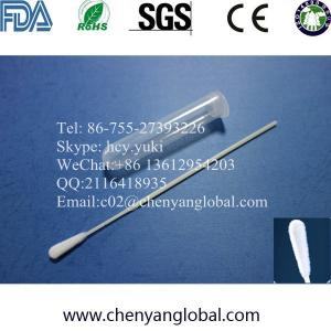 China Medicial Cells Specimen Collection Flocked Swab DNA Sample Collection Swab Nylon Flocked Swab on sale