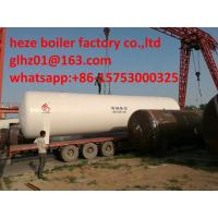 Stainless Steel 30M3 perlite insulated vacuum cryogenic storage tank for O2,N2,AR