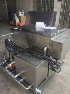 China Engine Components Automotive Ultrasonic Cleaner / Actuators Aerospace Parts Ultrasonic Cleaning Unit on sale