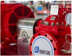 China NM FIRE Ul Fm Approved Fire Pumps / 300GPM @ 125M Head Electric Fire Fighting Pump on sale