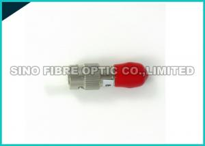 China Low Loss Single Mode Fiber Optic Attenuator 20dB In - Line Metal Housing on sale