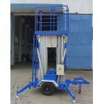 9 tipo dual del remolque de la carga de la plataforma de trabajo aéreo del palo de Mtrs 200Kg