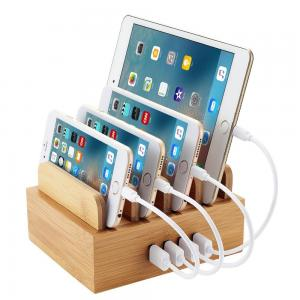 China trend selling eco-friendly bamboo cell phone holder phone holder with high quality on sale
