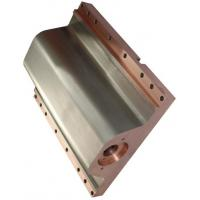 China Straight Or Curved Copper Mould Tube For CCM , Finned Copper Tube Outer Contour Parallel on sale