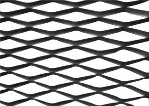 China Diamond Shape Expanded Metal Mesh 304 Stainless Steel Wire Material on sale
