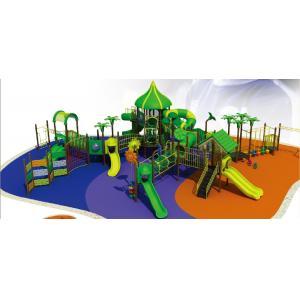 China Adventure Large Kids Outdoor Playground and Land Children Amusement Playground Equipment on sale