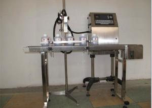 China Glass Bottle Expiry Date Printing Machine with Full Automatic , Date Printing Machine on sale