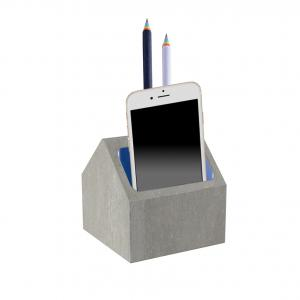 China Durable Smooth 3D Concrete Home Decor Custom Pen , Iphone Holder 6mm on sale