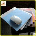 Customzied fashionable led square plexiglass acrylic mouse pad