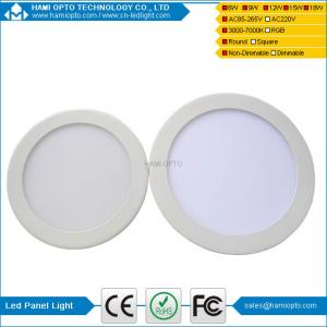 China New 9W Round LED Panel Light Surface Mounted Ceiling Down Light Lamp Warm White on sale