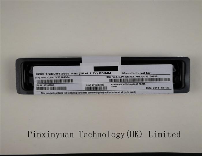 32GB Memory for Lenovo ThinkSystem SR650 DDR4 2666MHz RDIMM PARTS-QUICK Brand