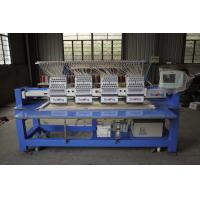 China Large Format Embroidery Machine , Embroidery Printing Machine 12 Needle on sale
