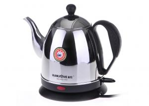 China 1500W Room Service Equipments , 1.5 Liter 304 Austenitic  Stainless Steel Electric Kettle on sale