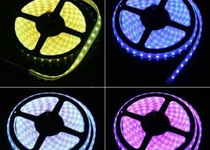 China Joinable Warm White RGB LED Strip Lights 5 Meter 12V For Outdoor on sale
