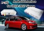 Interface automatique androïde + boîte androïde de navigation pour Toyota Sienna avec le Quadruple-Noyau