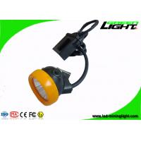 420g Mining Cap Lamp with Cable , Waterproof Explosion Proof Miner Hat Light with Low Power Warning Function