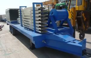 China Hydraulic Cutting K Style Long Span Roll Forming Equipment For Warehouse on sale