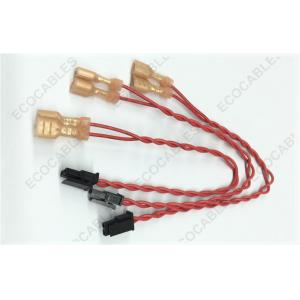 China MOLEX Switch Cable Assembly With Quick Disconnect Female Terminal on sale
