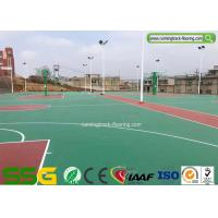 China Silicone Polyurethane PU Flooring for Sport Court Surface basketball Court/volleyball court on sale