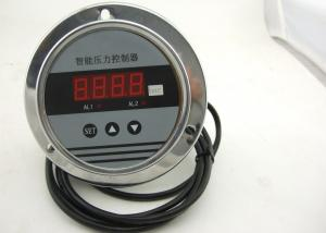 China Backing Connection Digital High Pressure Gauge 4-20mA Relay Output -0.1~100MPa on sale