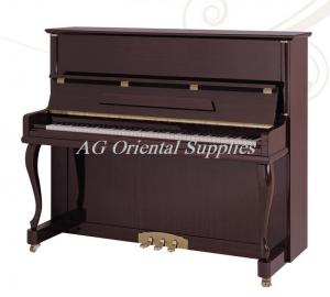 China 88-KEY New Acoustic wooden upright Piano With Stool Teakwood polished color AG-123Z1 on sale