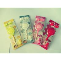 China Retractable Cute Wired Earphones Waterproof Yellow / Pink for Girls on sale