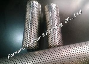 China Le tube perforé en métal/a perforé le tuyau d'acier inoxydable de l'élément filtrant on sale