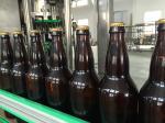 Оборудование 2 безгнилостного пива разливая по бутылкам в 1 завалке и покрывая машина с 24 головками