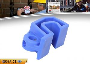 China Blue Tough Nylon Electrical Breaker Lockout Device Miniature Multi Functional on sale