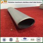 Usine simple ovale de tube de cannelure d'acier inoxydable de Foshan
